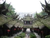 Temple in Dujiangyan, Sichuan