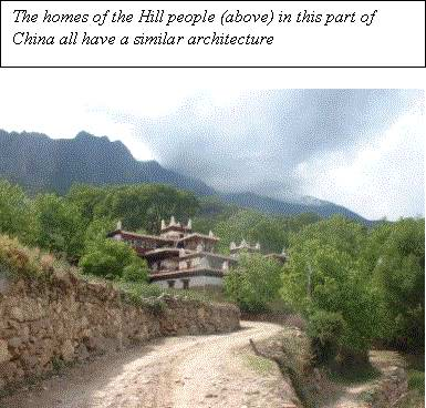 Hill people village