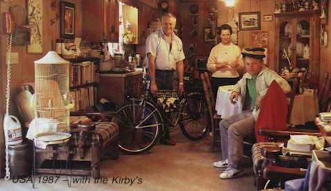 USA 1987 - with the Kirby's
